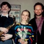 Max, Petra, Gene Jan. 8th 1994 Swedish Institute